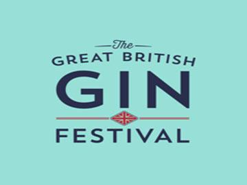 Great British gin festival promotional poster