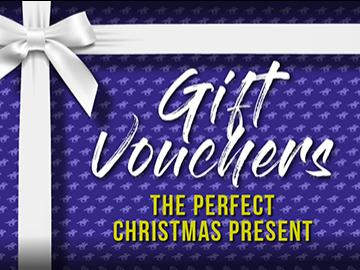 Gift vouchers for Brighton Racecourse make the perfect Christmas present!
