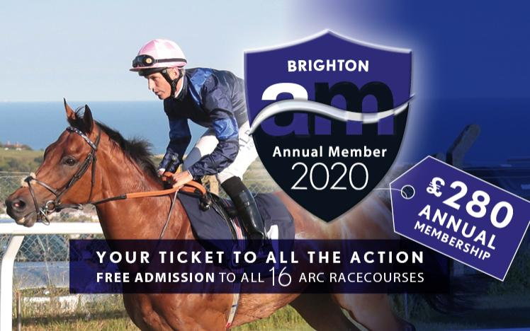 Annual Membership at Brighton Racecourse for 2020