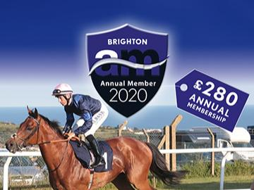 Annual Membership at Brighton Racecourse