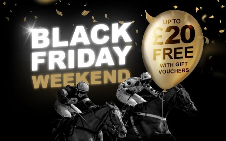 Treat someone with a black friday gift voucher to enjoy live horse racing at Brighton Racecourse. A unique Christmas present